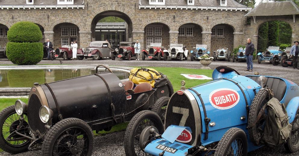 Oldtimer BUGATTI Rally 2012